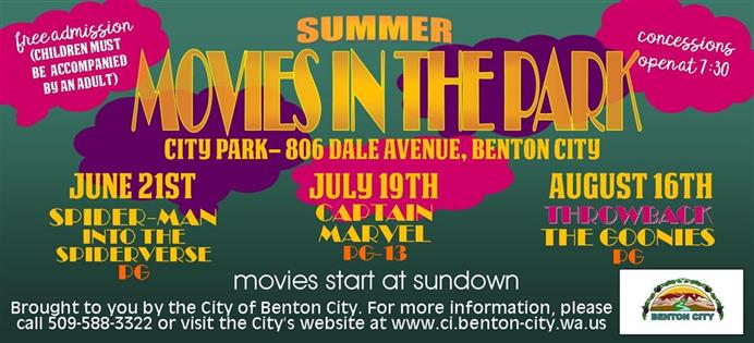 2019.Movies in the Park